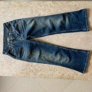 Hudson women short blue jeans size 24-XS